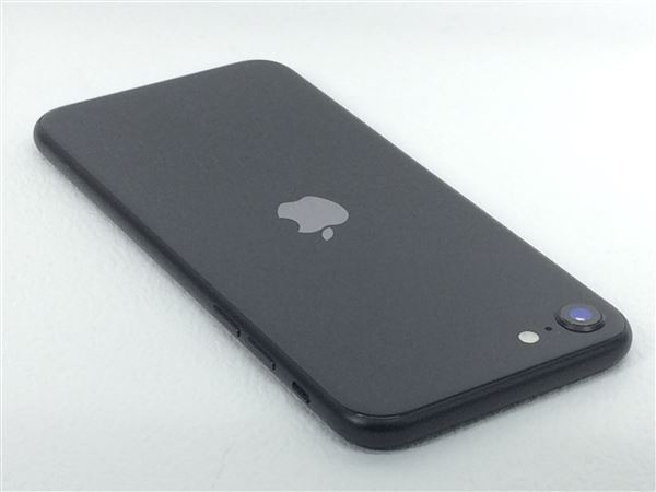 【中古】【安心保証】 iPhoneSE 第2世代[128GB] UQモバイル MXD02J ブラック