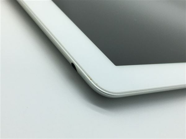 【中古】【安心保証】 iPad4/iPadRetinaディスプレイ 9.7インチ[16GB] Wi-Fiモデル ホワイト
