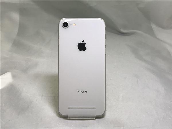 【中古】【安心保証】 iPhone8[64GB] SIMロック解除 au シルバー