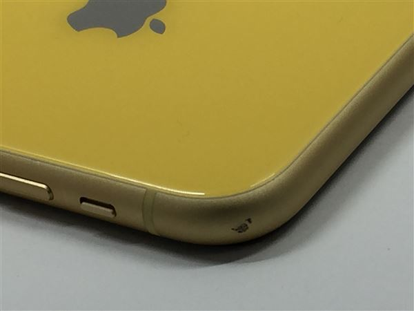 【中古】【安心保証】 iPhoneXR[64GB] SIMロック解除 SoftBank イエロー