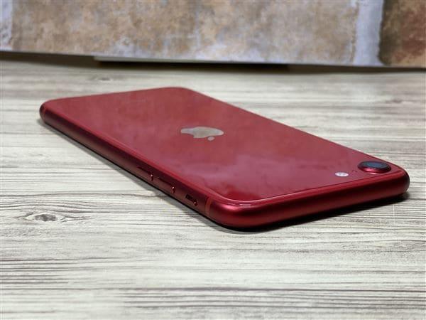 【中古】【安心保証】 iPhoneSE 第2世代[128GB] SIMフリー レッド