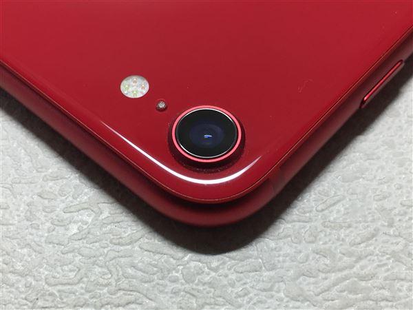 【中古】【安心保証】 iPhoneSE 第2世代[64GB] SIMフリー レッド