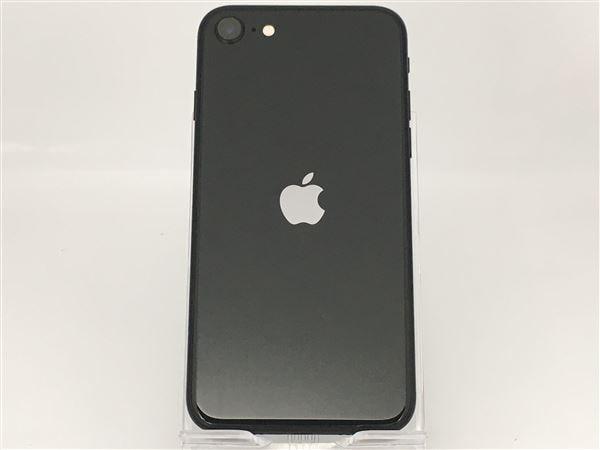 【中古】【安心保証】 iPhoneSE 第2世代[64GB] SIMフリー ブラック