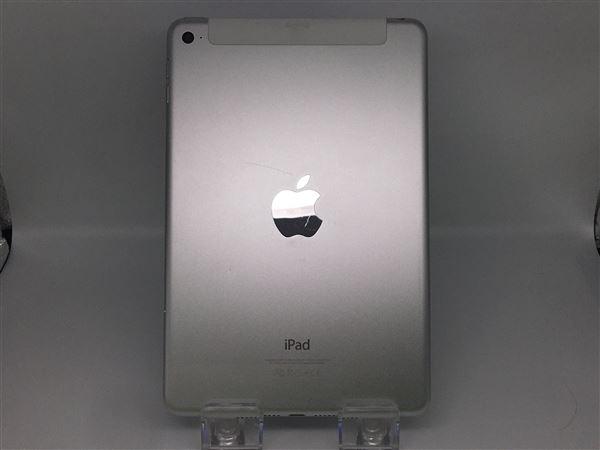 【中古】【安心保証】 iPadmini4 7.9インチ[64GB] セルラー au シルバー