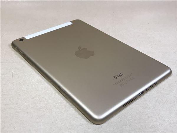 【中古】【安心保証】 iPadmini3 7.9インチ[16GB] SIMフリー ゴールド
