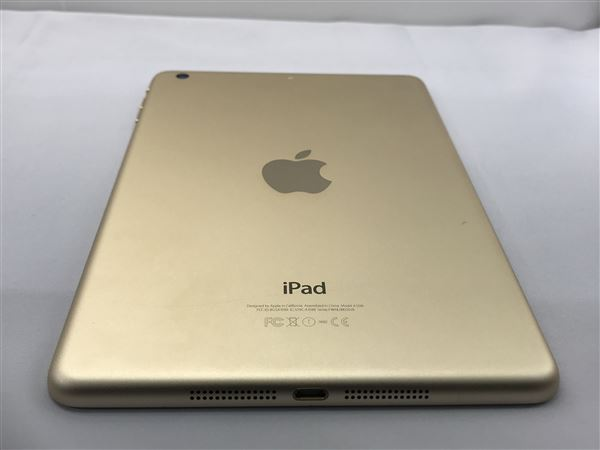 【中古】【安心保証】 iPadmini3 7.9インチ[64GB] Wi-Fiモデル ゴールド