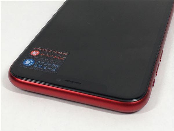 【中古】【安心保証】 iPhoneXR[64GB] SIMロック解除 SoftBank レッド