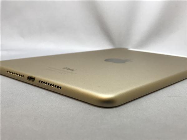 【中古】【安心保証】 iPadmini4 7.9インチ[16GB] SIMフリー ゴールド