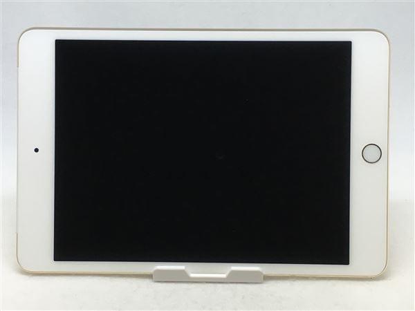 【中古】【安心保証】 iPadmini4 7.9インチ[128GB] SIMフリー ゴールド