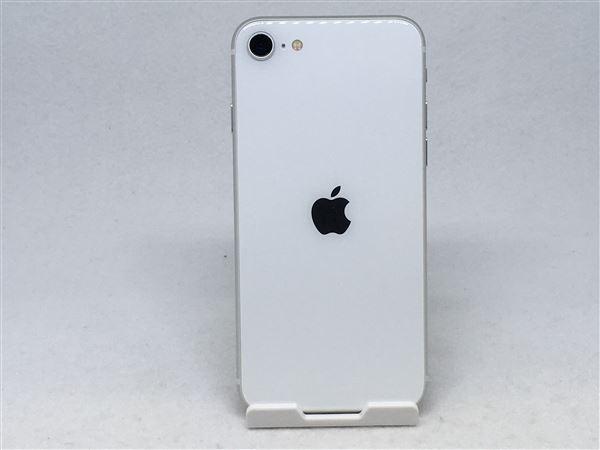 【中古】【安心保証】 iPhoneSE 第2世代[128GB] SIMロック解除 au ホワイト