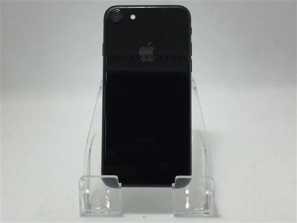 【中古】【安心保証】 docomo iPhone7[128G BT] ジェットブラック