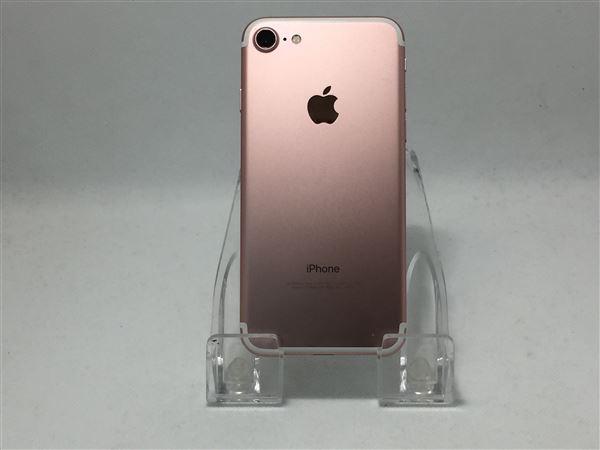 【中古】【安心保証】 docomo iPhone7[256Gシム解 BT] ローズゴールド