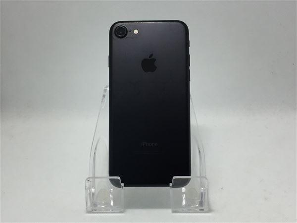 【中古】【安心保証】 SoftBank iPhone7[128G BT] ブラック