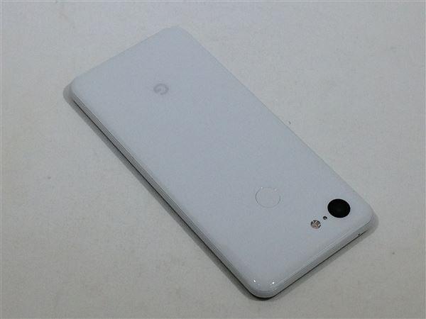 【中古】【安心保証】 SoftBank Pixel 3[64G] クリアリーホワイト