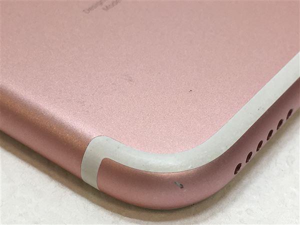 【中古】【安心保証】 iPhone7[32GB] au NNCJ2J ローズゴールド