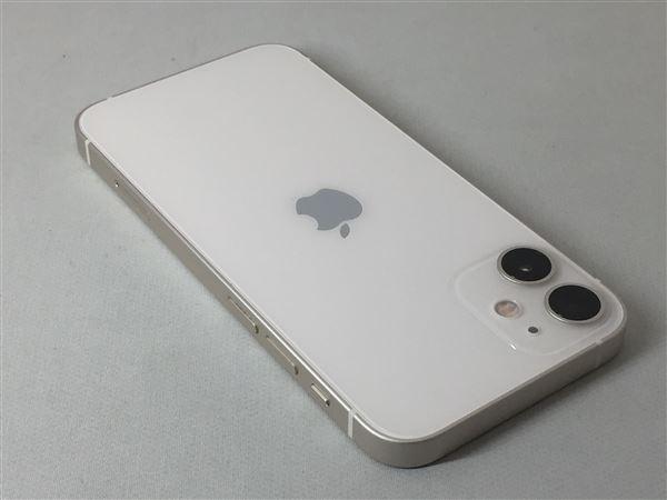 【中古】【安心保証】 iPhone12mini[128GB] SIMフリー ホワイト