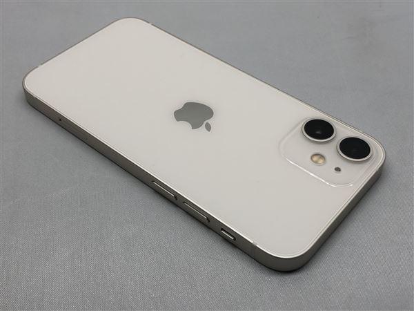 【中古】【安心保証】 iPhone12mini[256GB] SIMフリー ホワイト