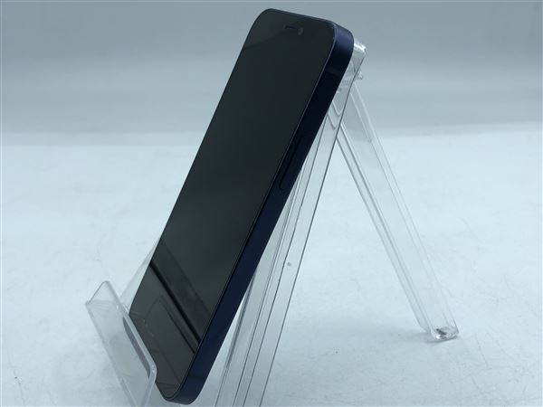 【中古】【安心保証】 iPhone12mini[256GB] SIMフリー ブルー