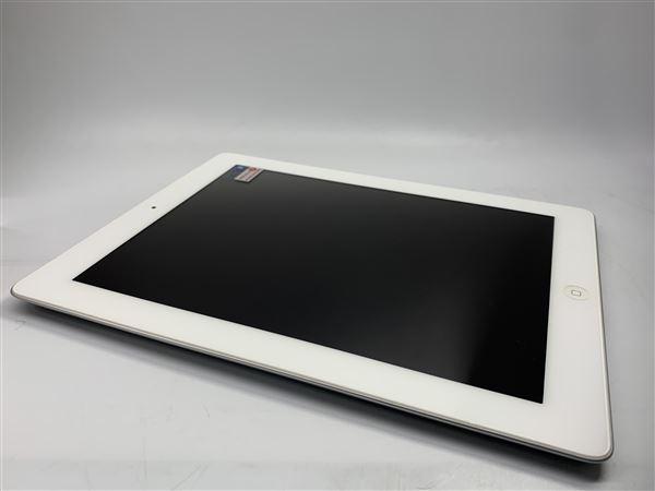 【中古】【安心保証】 iPad4/iPadRetinaディスプレイ 9.7インチ[128GB] セルラー SoftBank ホワイト