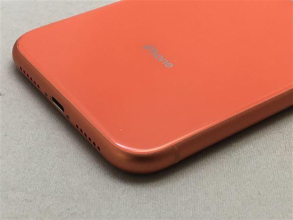 【中古】【安心保証】 iPhoneXR[64GB] SIMロック解除 SoftBank コーラル