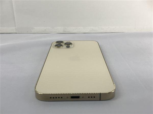 【中古】【安心保証】 iPhone12Pro[128GB] SIMフリー ゴールド