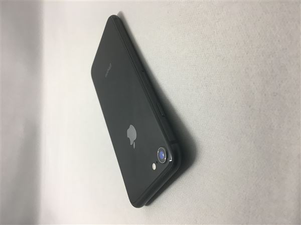 【中古】【安心保証】 iPhone8[64GB] au MQ782J スペースグレイ