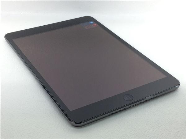【中古】【安心保証】 iPadmini2 7.9インチ[16GB] セルラー au スペースグレイ