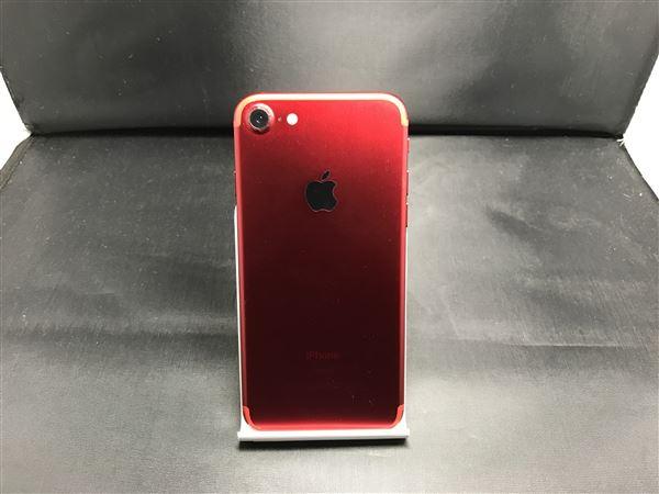 【中古】【安心保証】 iPhone7[128GB] SIMロック解除 docomo レッド