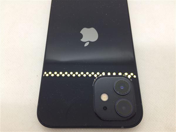 【中古】【安心保証】 iPhone12[64GB] au MGHN3J ブラック