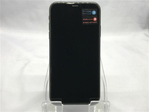 【中古】【安心保証】 iPhoneXR[64GB] SoftBank MT002J ブラック