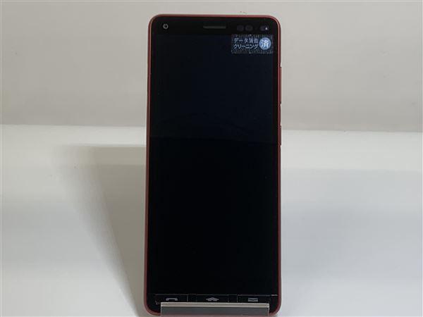 【中古】【安心保証】 Y!mobile A001KC レッド
