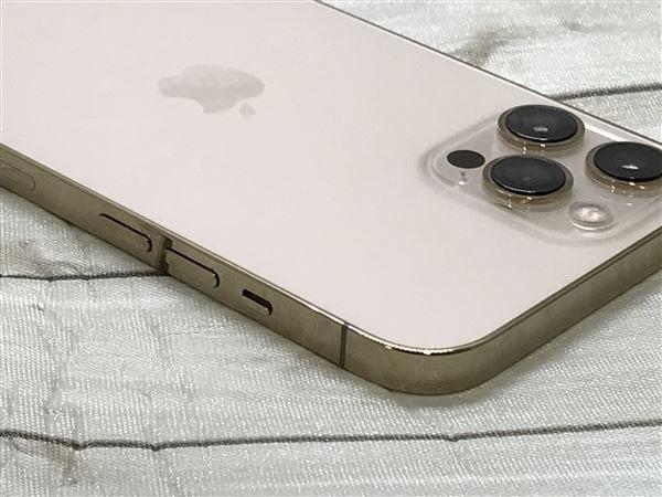 【中古】【安心保証】 iPhone12ProMax[256GB] au MGD13J ゴールド