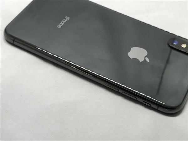 【中古】【安心保証】 iPhoneX[256GB] SoftBank NQC12J スペースグレイ