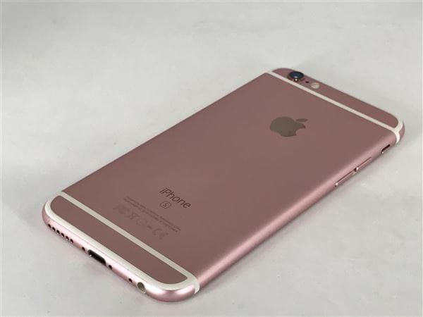 【中古】【安心保証】 iPhone6s[64GB] SoftBank MKQR2J ローズゴールド