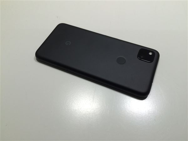 【中古】【安心保証】 SoftBank Pixel 4a[128G] ジャストブラック