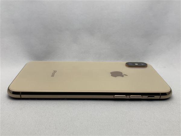 【中古】【安心保証】 iPhoneXS[256GB] docomo NTE22J ゴールド