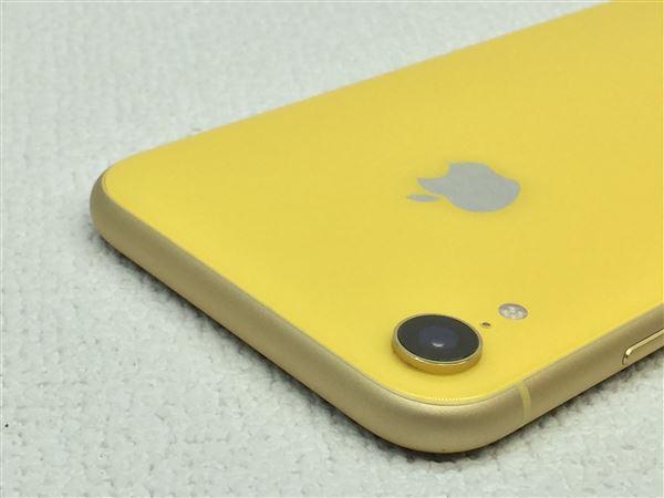 【中古】【安心保証】 iPhoneXR[64GB] docomo MT082J イエロー