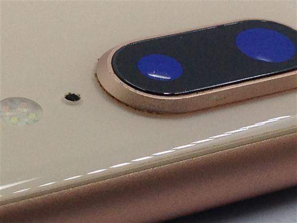 【中古】【安心保証】 iPhone8Plus[256GB] SIMロック解除 au ゴールド