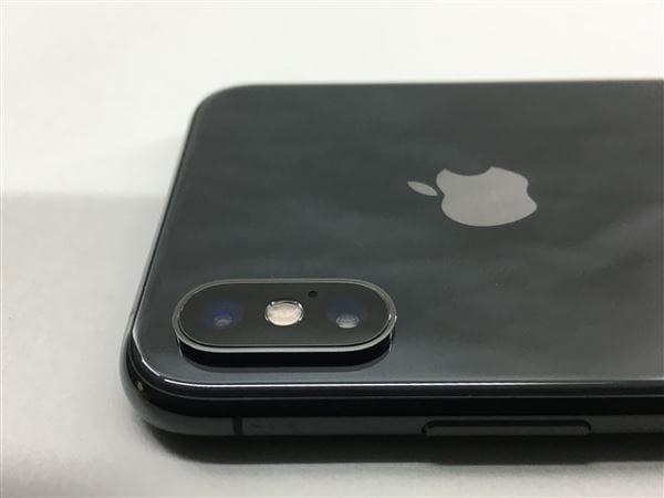 【中古】【安心保証】 iPhoneXS[256GB] SIMロック解除 docomo スペースグレイ