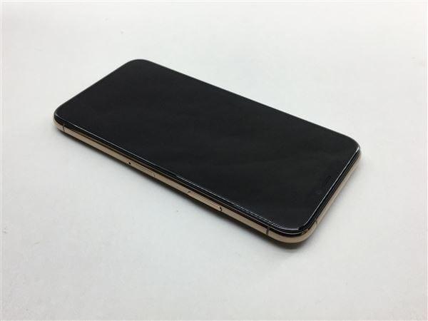 【中古】【安心保証】 iPhone11 Pro[64GB] SIMロック解除 au ゴールド