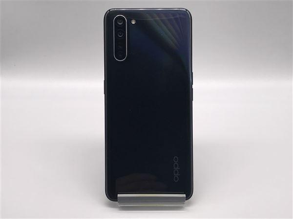 【中古】【安心保証】 SIMフリー OPPO Reno3 A ブラック 楽天モバイル版