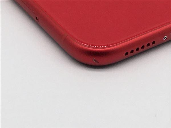 【中古】【安心保証】 iPhone11[128GB] SoftBank MWM32J レッド