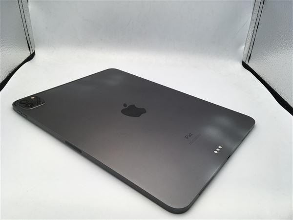 【中古】【安心保証】 iPadPro 11インチ 第2世代[512GB] Wi-Fiモデル スペースグレイ