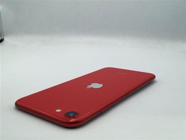 【中古】【安心保証】 iPhoneSE 第2世代[128GB] au MXD22J レッド