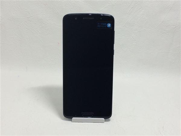 【中古】【安心保証】 SIMフリー Motog6plus[64G] インディゴ