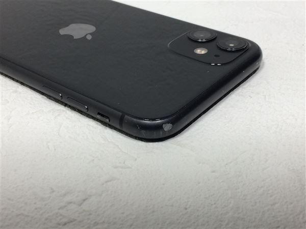 【中古】【安心保証】 iPhone11[128GB] docomo NWM02J ブラック