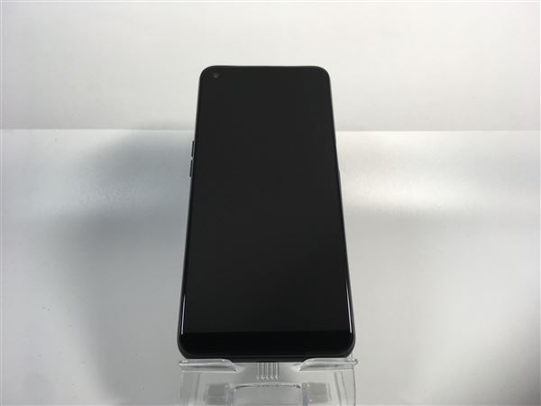 【中古】【安心保証】 au OPG02 [64GB] (5G) シルバーブラック