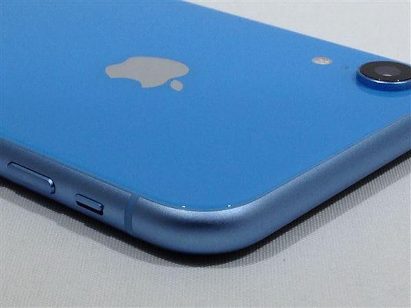 【中古】【安心保証】 iPhoneXR[64GB] SIMロック解除 au ブルー