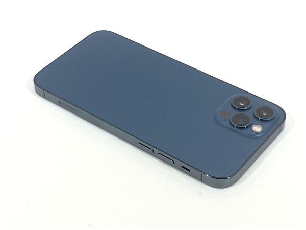 【中古】【安心保証】 iPhone12Pro[256GB] SIMロック解除 SoftBank パシフィックブルー