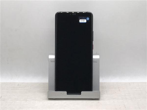 【中古】【安心保証】 SoftBank Mate20 Pro ブラック